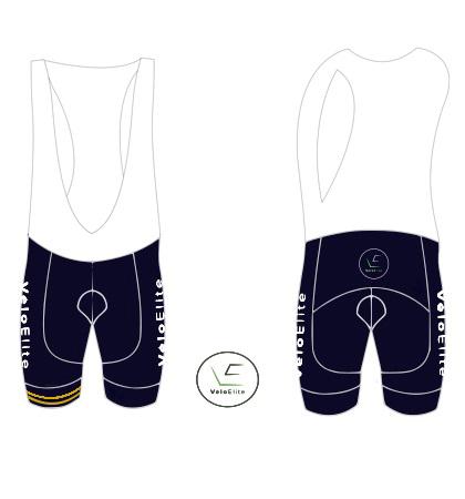 VeloElite Club Bib shorts